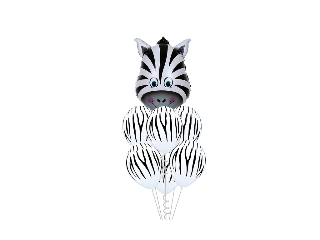 0035239 vesele balonky zebra