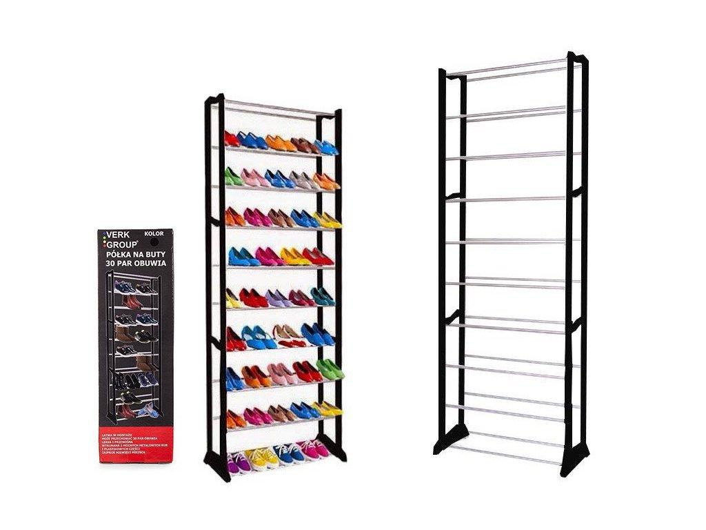 eng pl Shoe Shelf Metal 30 Pairs Bookcase 1009 1 3