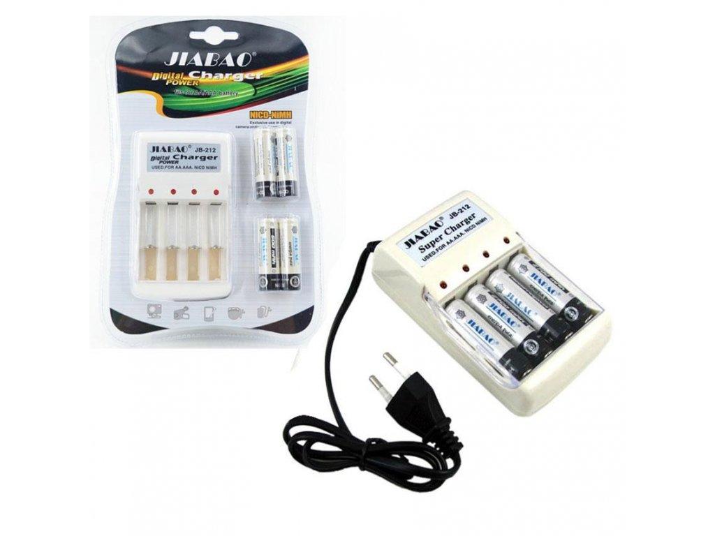 Nabíječka baterií 4x AA a 4x AAA