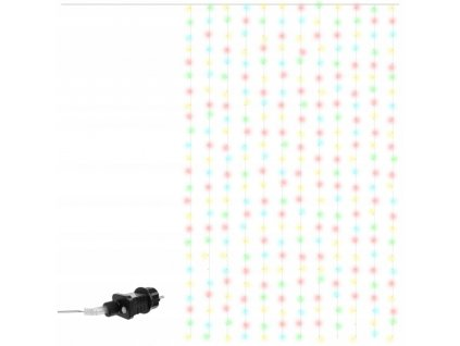 112185 vanocni zavesne osvetleni barevne 300 led 6 15m