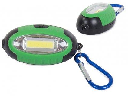 eng pl Mini flashlight keychain LED COB UV backpack light 2196 1 3