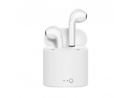 Bezdrátová bluetooth sluchátka i7S TWS s dobíjecím boxem