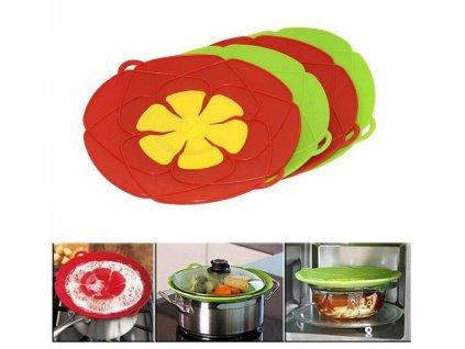 101969 multifunctionele koken gereedschap bloem kookgerei onderdelen siliconen overkoken spill deksel stopper oven veilig voor pot pan jpg 640x640