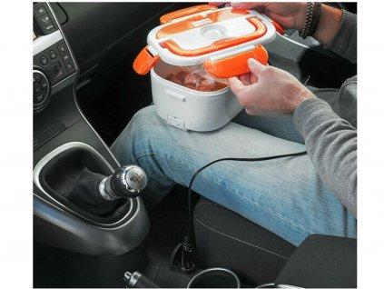 102245 7 elektricky ohrivaci box do auta na jidlo lunchbox