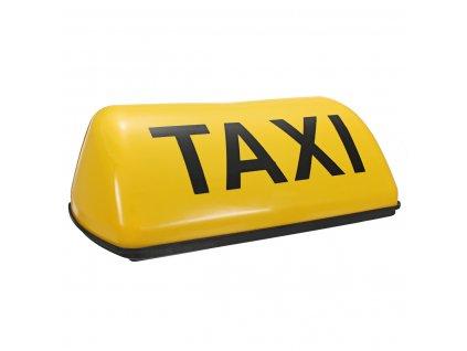 Taxi světlo hrazda na střechu s magnetem žlutá barva 12V