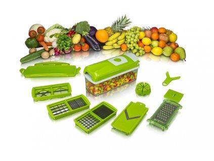 Multifunkční kráječ na ovoce a zeleninu - 10 dílná sada