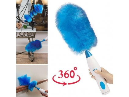 Hurricane Power Spinning Duster Scrubber with 2 Brushes to Exchange 02 800x