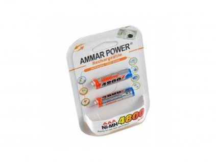 Dobíjecí baterie R3 AAA 4800mAh - balení 2ks