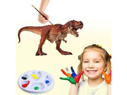 0009582 vybarvi si dinosaura