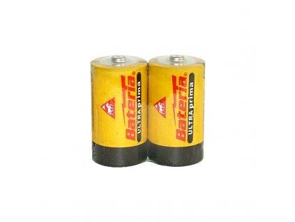 Baterie Ultra Prima R20/D - balení 2ks