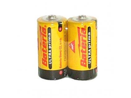 Baterie Ultra Prima R14/C - balení 2ks