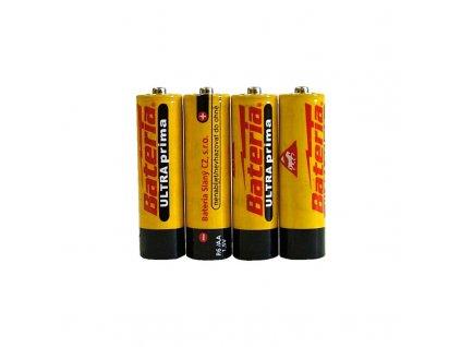 Tužkové baterie AA Ultra Prima - balení 4ks