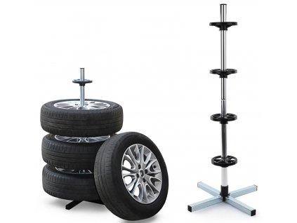 105695 stojan na 4 pneumatiky tyre holder