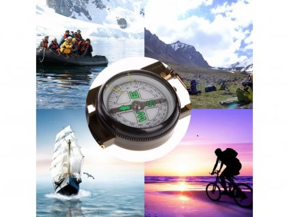 105896 1 77787 professional mini boat compass bussola portable army green folding lens military compass for outdoor hiking camping 1