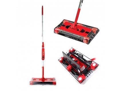 Elektrický zametač se 4 kartáči Swivel Sweeper