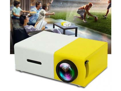 Mini Pocket Projector 600Lumens 1080P HDMI LED Projector Beamer YG300 Video Projectors Media Player For Laptop 1024x1024