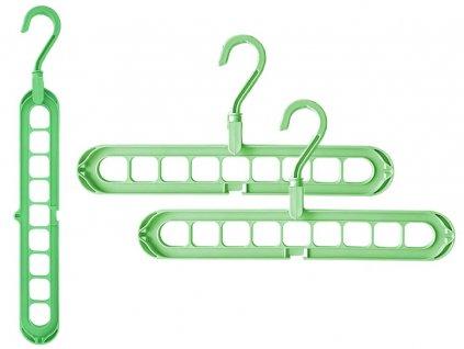 eng pl Organizer for clothes hangers 2 pieces 2062 1 3