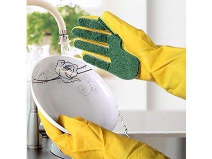 0017193 rukavice na nadobi s houbickou