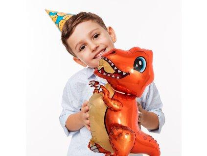 107793 3 dinosauri balonek t rex
