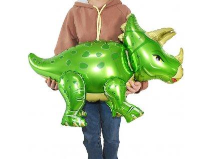 0053800 dinosauri balonek triceratops