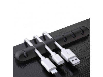 0049012 organizer na kabely 7 otvoru