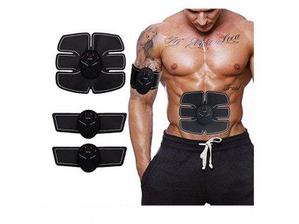 Posilovač a tvarovač břišních svalů a bicepsů