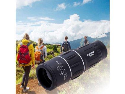 109506 monokularni dalekohled 16x52 klip na mobil trojnozka