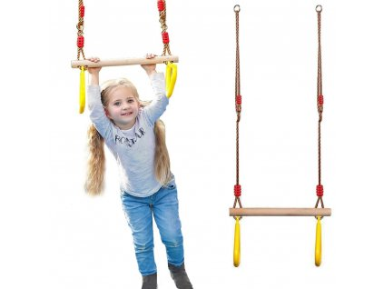 eng pl Garden swing for children gymnastic trapeze 2540 10