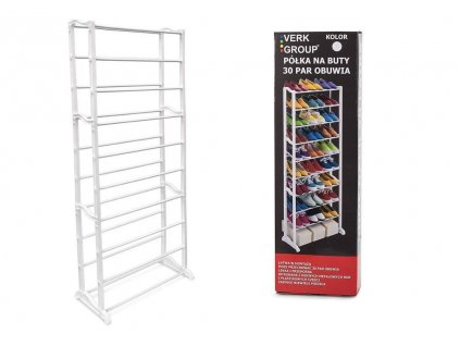 eng pl Metal Shelf For Shoes Footwear 30 Pairs Bookcase 1007 1 3
