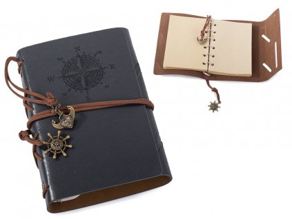 eng pl Travelers notebook diary journal retro vintage 2220 1 3