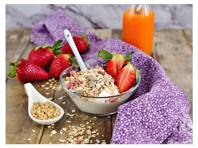 Bezva müsli Protein 25% jahodové (hmotnost 1000 g)