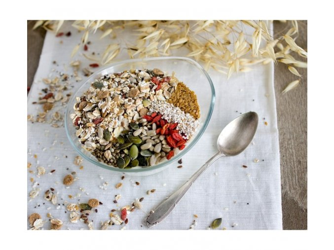 Bezva müsli semínkové s goji (hmotnost 1000g)