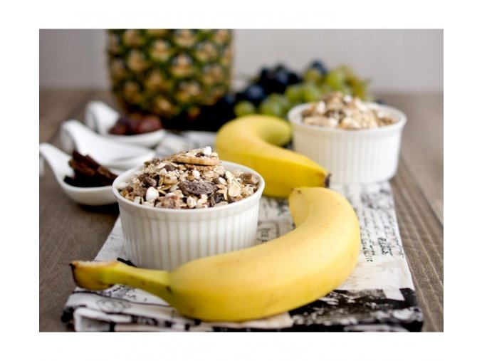 Bezva müsli sypané s ananasem a čokoládou (hmotnost 1000g)