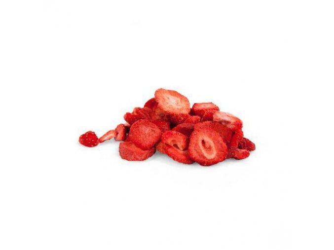 266 jahody lyofilizovane platky 45g