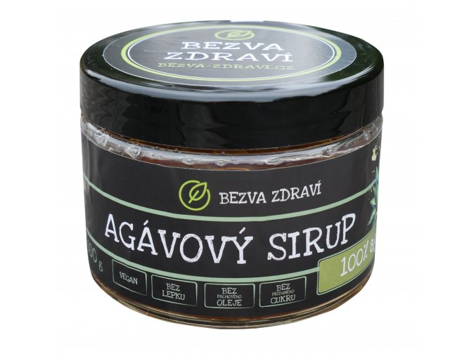 foto sirup agavovy