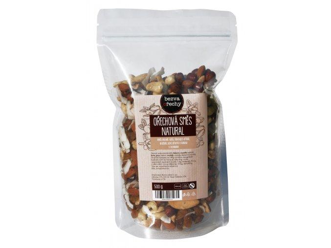 Ořechová směs natural, 500g