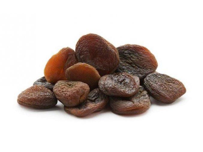 Sušené meruňky nesířené celé (hmotnost 1000g)