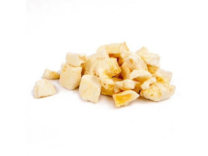 Ananas lyofilizované kousky, 55g