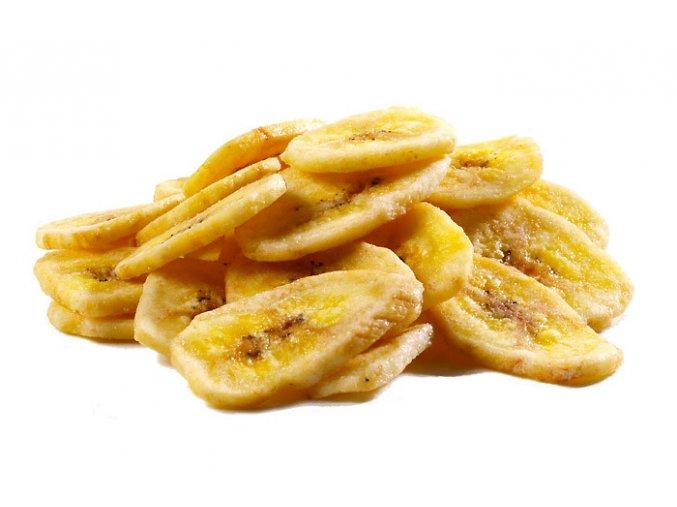 Banán sušený (plátky), 500g