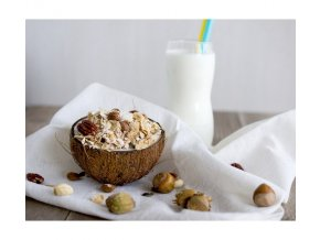 Bezva müsli ořechové s ovesnými lupínky (hmotnost 1000g)
