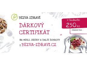 bezva darkovy certifikat