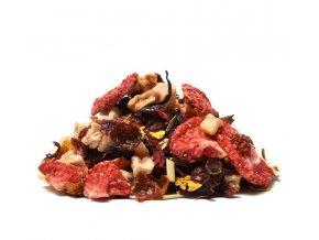 Jahoda & Smetana ovocný čaj (Hmotnost 100 g)