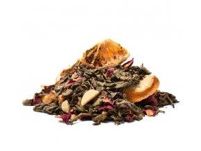 Zimní večer zelený čaj (Hmotnost 100 g)