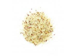 Rýže parboiled s červenou rýží (hmotnost 1000g)