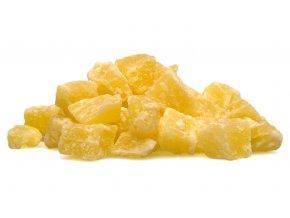 Sušený ananas - kostky (hmotnost 1000g)