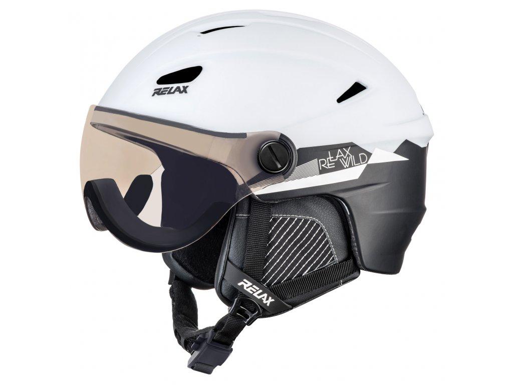 RELAX STEALTH RH24D lyžařská helma