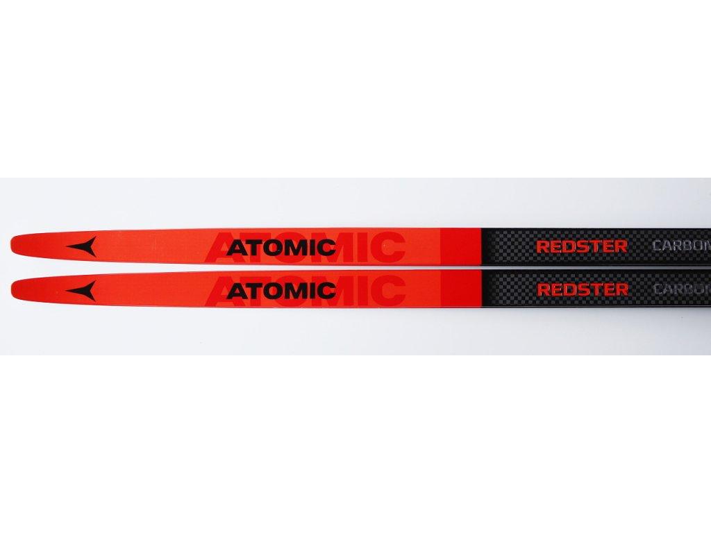 ATOMIC REDSTER S9 CARBON hard 186 cm 2019-2020 + vázání - Závodní běžky