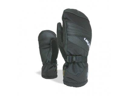LEVEL GLOVE PATROL MITT BLACK lyžařské rukavice,palčáky