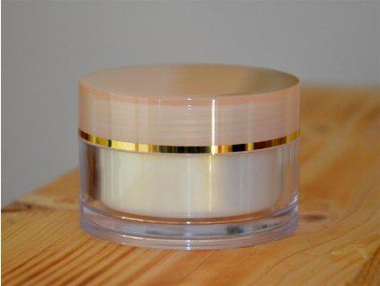 Doza Simple 50 ml zlatý proužek
