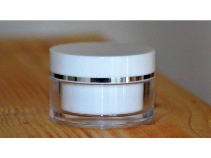 Dóza Simple 15 ml stříbrná proužek (2)